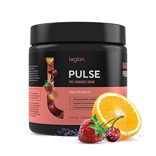 Legion Pulse, Best Natural Pre Workout Supplement
