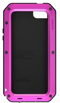 Lunatik TT5L-005 Taktik Strike Impact Protection System for iPhone 5 - 1 Pack - Retail Packaging - Pink