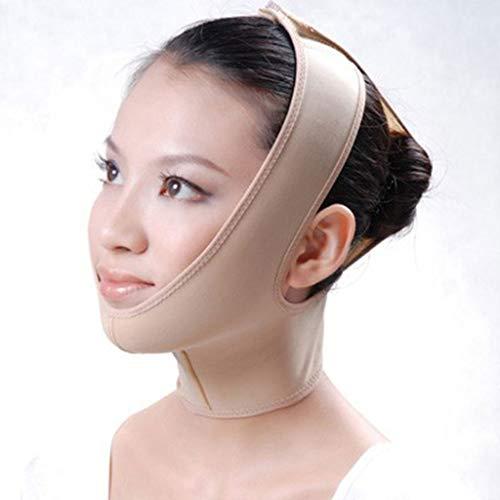 Visage Minceur, Face V Lifting Masque Face Sangle V-Line Face-Lift Bandage Minceur Shaping Cheek de Levage Bande Menton Fermeté Visage,Flesh,L