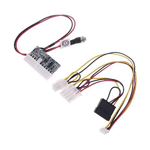 qiulip 24-Pin 160W DC 12V Pico Switch PSU Auto Auto Mini ITX High Power Supply Module