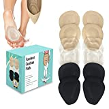(12 Pieces) Metatarsal Pads for Women High Heels   Ball of Foot Cushions 6 Pairs Foot Pads   Shoe Cushion Inserts for Pain Relief from Neuroma, Callus, and Bunions