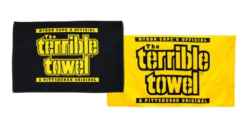 Terrible Towels Official Pittsburgh Set of Two Towels