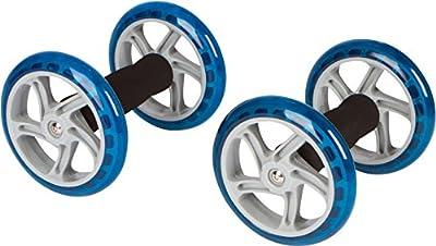 "Trademark Innovations 6"" Diameter Core Abdominal Exercise Roller Wheels (1 Pair)"