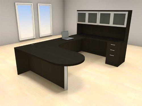 Hot Sale 5pc U Shape Modern Executive Office Desk Set, #CH-AMB-U14