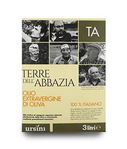 Ursini Aceite de Oliva Virgen Extra coupage Terre dell'Abbazia Origen Italia - Lata de 3 litros