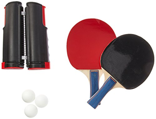 Why Should You Buy Trademark Innovations Portable & Lightweight Ping Pong Game Set (Red)