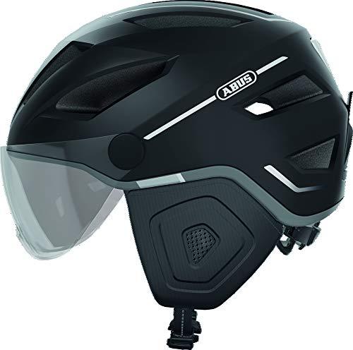 ABUS Unisex-Erwachsene PEDELEC 2.0 ACE Fahrradhelm, Velvet Black, L