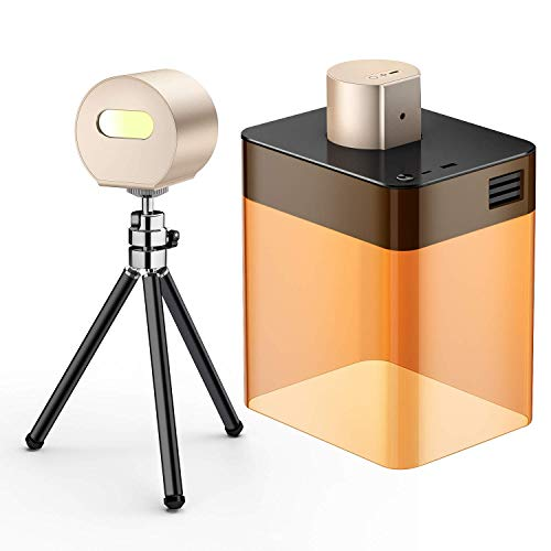 LaserPeckerレーザー彫刻機1600mW 軽量 (190g) コンパクト 小型 携帯しやすい レーザー刻印機 [3色から選べる彫刻機] 高性能高解像度 DIY道具 加工機 無線Bluetooth/iOS/Android/USB接続用 長寿命 色々な