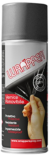 Lampa WR0295 Wrapper Oscurante fanali pell icola Spray Removibile 400ml, Nero FumÈ