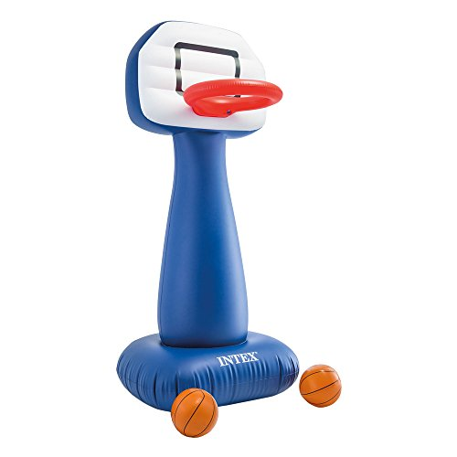 INTEX Aufblasbares Basketball-Spiel - Spiele Ride It On Wheels