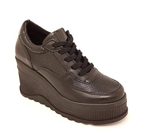 SPM Yassy High Plateau Sneaker - schwarz Größe 40