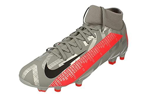 Nike Mercurial Superfly 7 Academy FG/MG Hombre Botas de Futbol AT7946 Soccer Cleats (UK 8.5 US 9.5 EU 43, Metallic Grey Black 906)