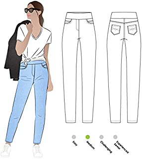 Style Arc Sewing Pattern - Blakley Stretch Jeans (Sizes 04-16) - Click for Other Sizes Available