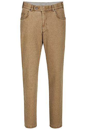 aubi: Herren Winter Hose Baumwollhose Modell 577 beige Größe 52