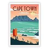 Lazy Days Poster Vintage Deko Kapstadt Süd Afrika