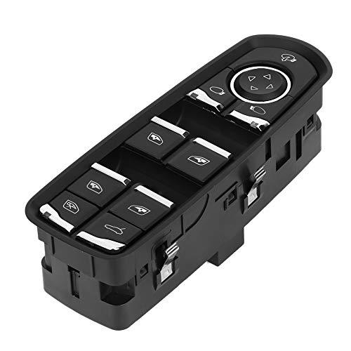 Interruptor de la ventana del coche, accesorios de reemplazo del interruptor de control de la ventana eléctrica principal 7PP959858R