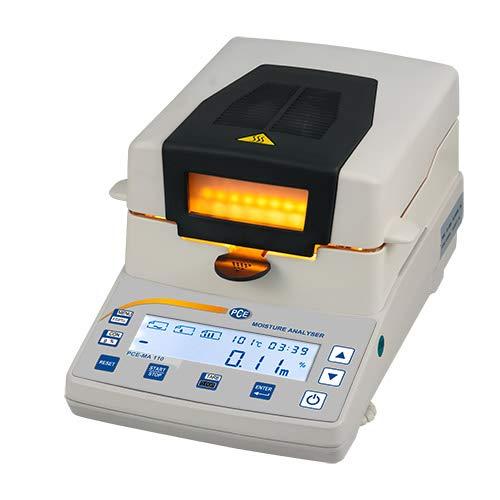 PCE Instruments Feuchtewaage PCE-MA 200 Wägebereich: 200 g/Ablesbarkeit: 1 mg/0,001 g