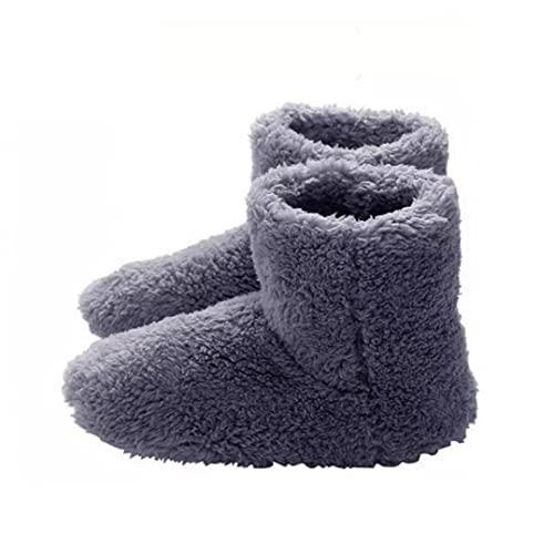 Fivesix Climatizada Zapatillas Calientes USB Calefacción Zapatillas de Invierno Plantillas de Calentamiento para Buena Noche de sueño 5V Calentador, Hogar