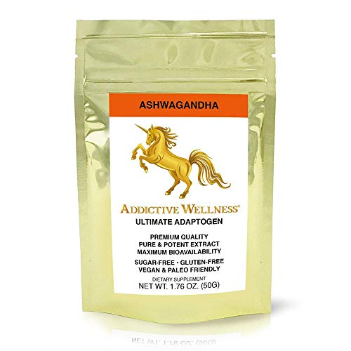 Addictive Wellness Ashwagandha Extract Powder - Pure & Potent