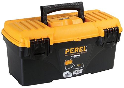 PEREL - OM16 05840 Werkzeugkiste Kunststoff 41 x 20,9 x 19,5 cm mehrfarbig 144771