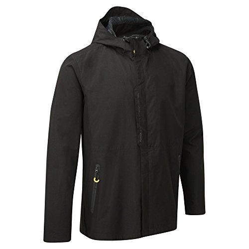Pirelli impermeabile giacca da uomo cappotto Motorsport S M L XL XXL XXXL Blacks medio
