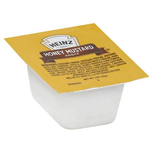 Heinz Honey Mustard Single Serve Packet (1 oz Packets, Pack of 100)