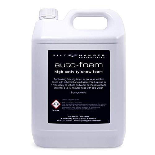 Bilt Hamber Auto Foam 5 Liters, Snow Foam Car Wash Soap