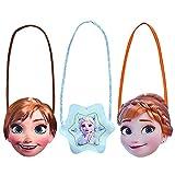 Nesloonp Cute Little Girls Purse Shoulder Handbag Cross Body Messenger Bag,Disney Girls Bag,Princess Bag,Little Girls Handbag,Shoulder Bag en Forma de Personaje de Dibujos Animados