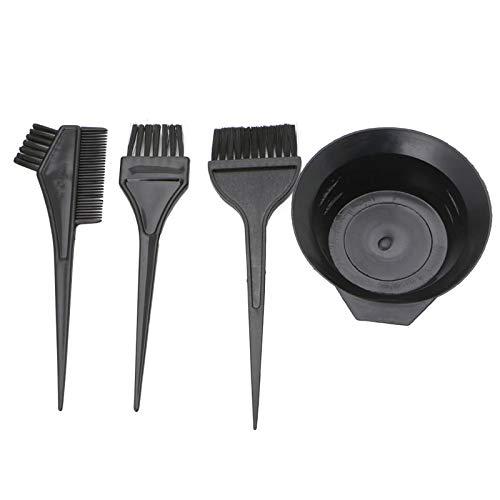 JAGETRADE 4 Pièces Brosses De Coiffure Bol Combo Salon Couleur des Cheveux Teinture Tint Tool Set Kit