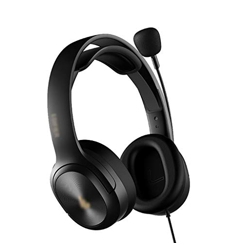 Binn Auriculares de Música Auriculares de Estudio con Ruido Cancelación Mic Memoria Souz Memoria sobre Las OriñAdas sobre Auricularios de Oriente Compatible con la Computadora Portátil Headphones