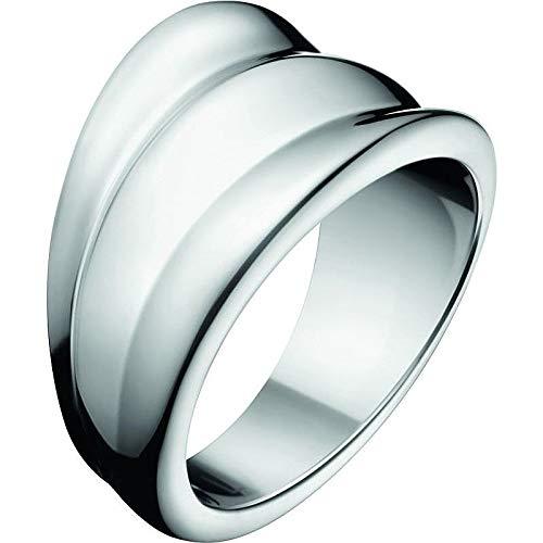 Calvin Klein - Anillo para mujer joyas Glorious talla 12 Oferta Trendy cód. KJ4SMR000106