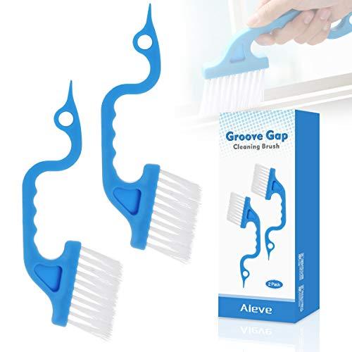 Groove Gap - Cepillo de limpieza con borde de mano para limp