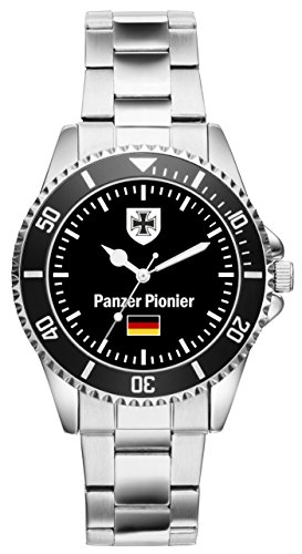 KIESENBERG Uhr - Soldat Geschenk Artikel Bundeswehr Panzer Pionier 1026