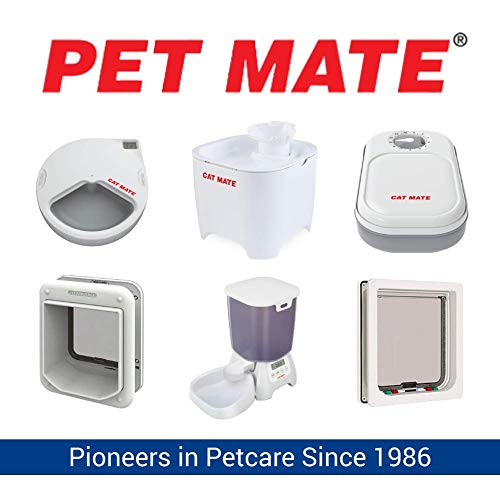 Pet Mate 410560 Mikrochip Katzenklappe - 5
