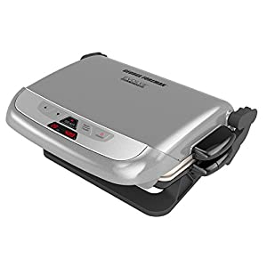 500 Searing Burst- A high-heat searing burst raises the temperature of the grill to 500 for 90 seconds to give you restaurant-quality results at home Digital Control Panel- The digital control panel clearly displays the cooking time and grill tempera...