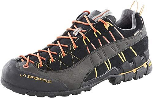 LA SPORTIVA M Hyper GTX Schwarz, Herren Gore-Tex Hiking- und Approachschuh, Größe EU 39.5 - Farbe Black