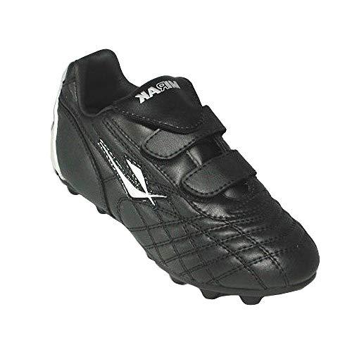 Mirak - Chaussures de Football ou Rugby à Crampons - Garçon (33 EUR) (Noir)