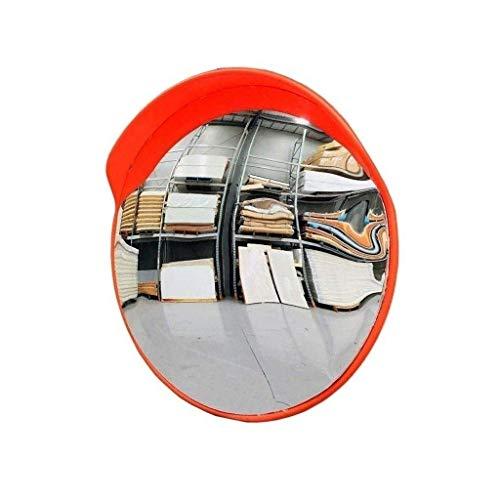 WENYAO Warehouse Monitor Diebstahlsicherung, großer Supermarkt The Mall Traffic Mirror Bruchsicher Einfach zu installierender konvexer Sicherheitsspiegel (Größe: 80CM)