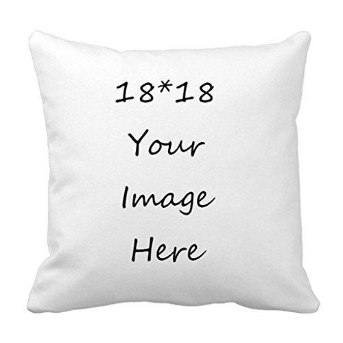 Babyssj Vert sauge et Prune Motif Taie d'oreiller Home décoratifs couvertures de taie d'oreiller carré 45,7 x 45,7 cm