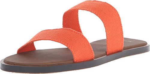 Sanuk Yoga Gora Gora Women's Double Gore Sandals (06, Flame (Orange))