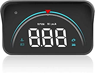 Car HUD LED HD Colored Head up Display OBD2 II Overspeed Warning System Projector Windshield Speed Voltage Alarm