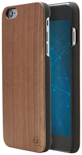 Ultratec Funda protectora para iPhone 6 Plus y 6s Plus con madera natural de nogal