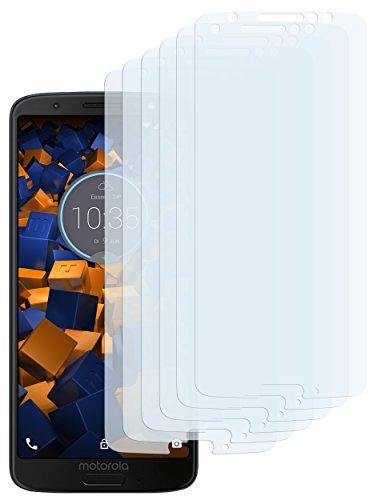 mumbi Schutzfolie kompatibel mit Motorola Moto G6 Folie klar, Bildschirmschutzfolie (6X)