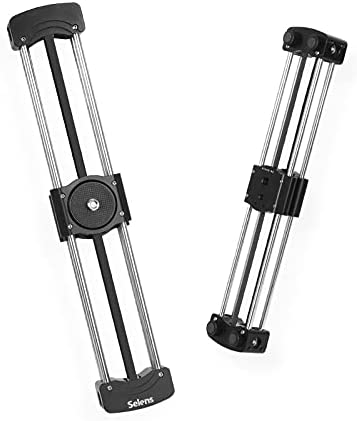 LANCYG Slider, Slider Motorizado Mini cámara de cámaras de Diapositivas Pista portátil de Brecha SLR Carril Deslizante de la cámara