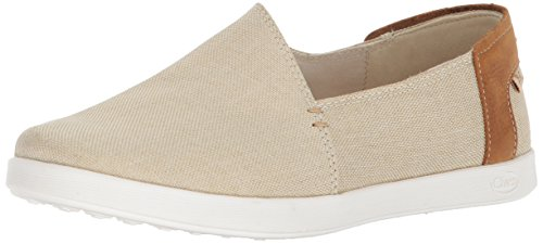 Chaco Women's Ionia Loafer Flat, Sand, 7 Medium US