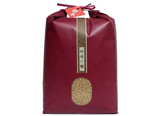 【新米2年産】有機JAS認証 無農薬 ミルキークイーン 玄米 1等 5kg
