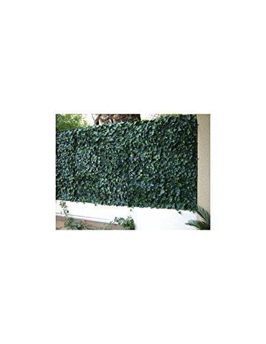 Brise vue imitation LIERRE plaque de 50cm, 3m2
