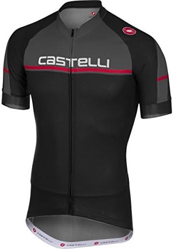 castelli Distanza Full Zip Jersey Men s Black S product image