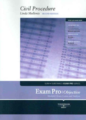 Exam Pro on Civil Procedure (Exam Pro Series)
