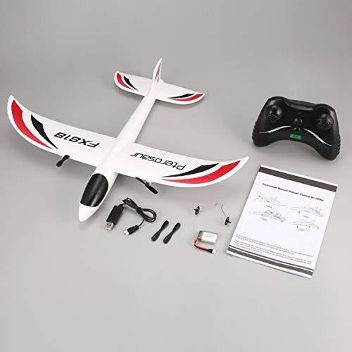 Fx Fx-818 2.4G 2Ch Planeador de Control Remoto 475Mm Envergadura Epp RC Avión de ala Fija Avión Drone para Regalo de Chico Rtf